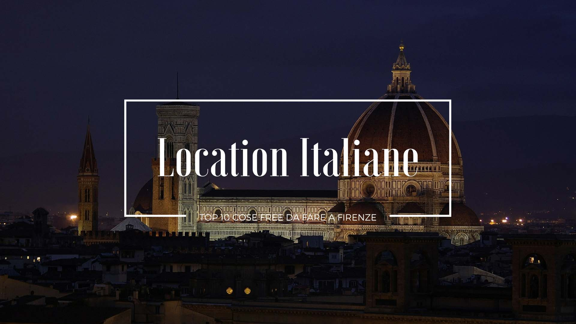 cose da fare a Firenze